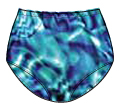 Printed Nylon Regular Cut Panty -  41411 105