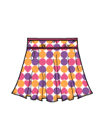 Children's Flounce Skirt - 26280 PRT